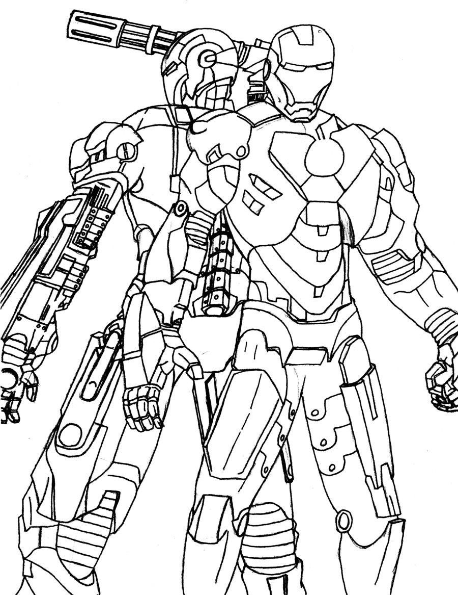 Machine coloring #6, Download drawings