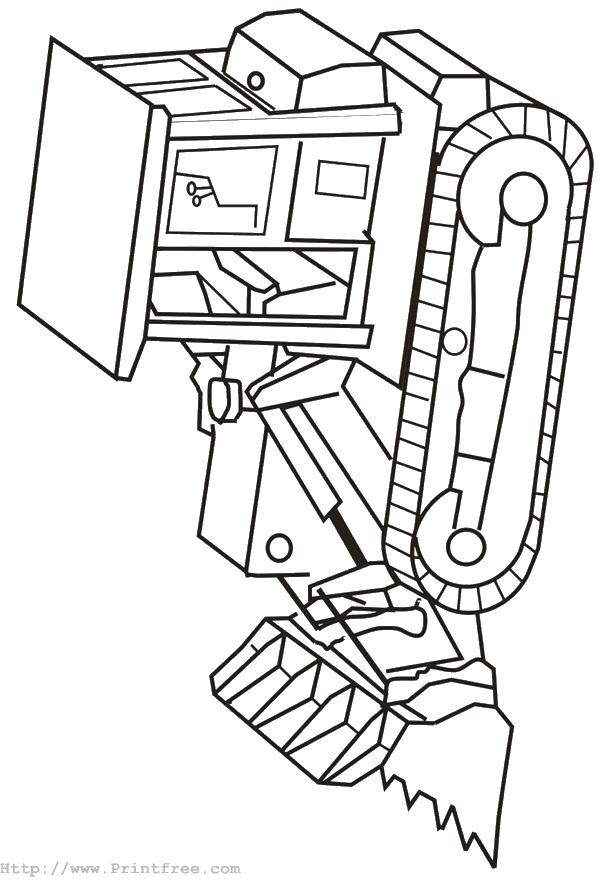 Machine coloring #2, Download drawings