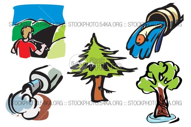 Macro clipart #1, Download drawings