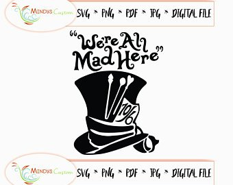 mad hatter svg #33, Download drawings