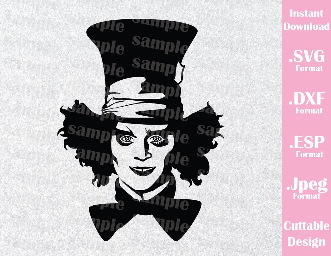 mad hatter svg #30, Download drawings