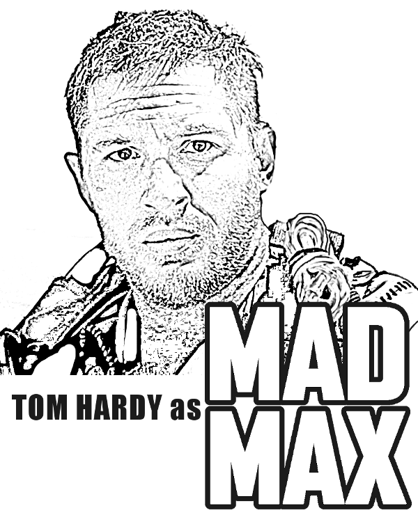 Mad Max coloring #5, Download drawings