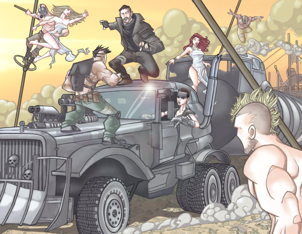 Mad Max coloring #8, Download drawings