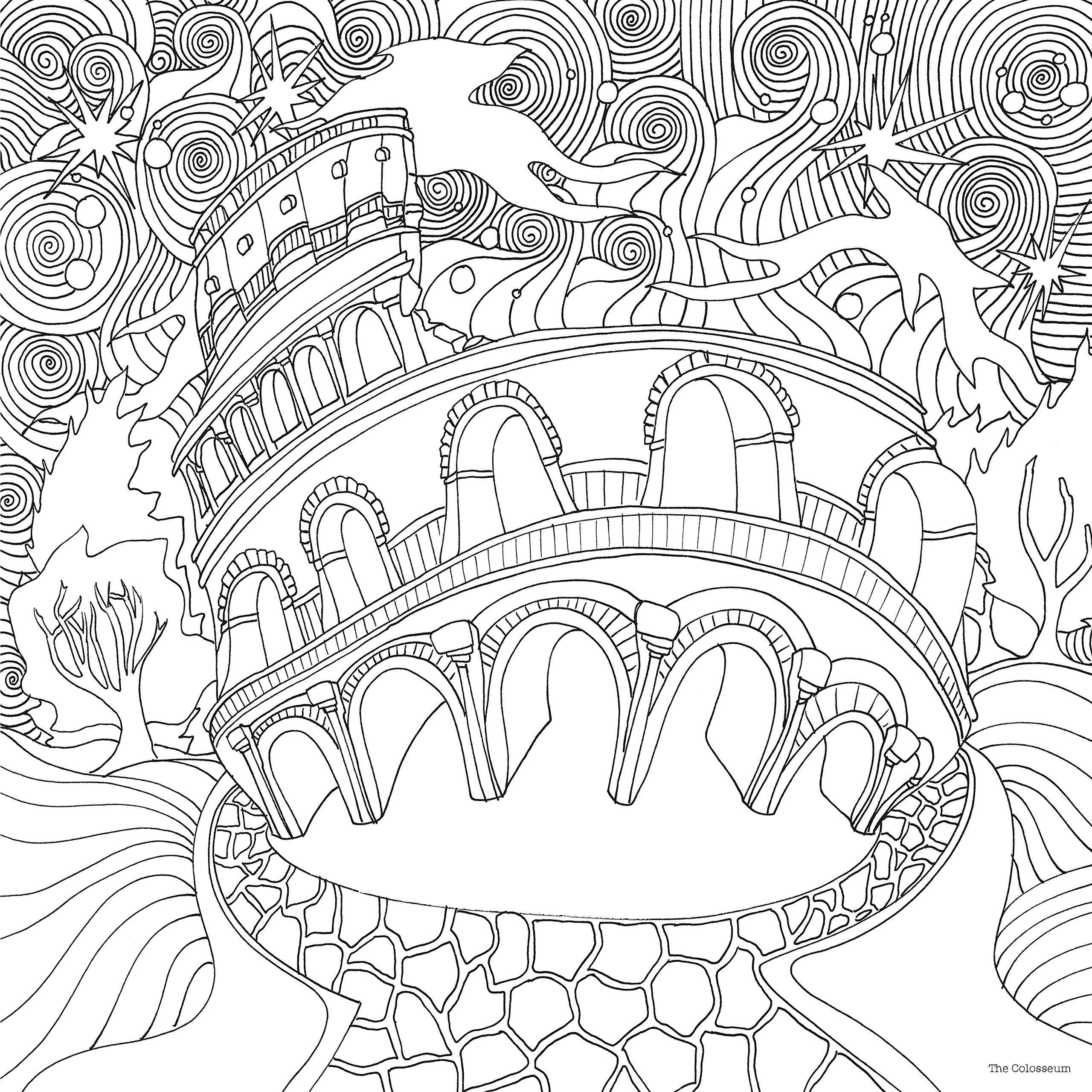 Magical coloring #9, Download drawings