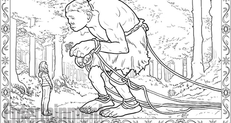 Magical coloring #15, Download drawings