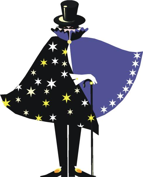 Magician clipart #6, Download drawings