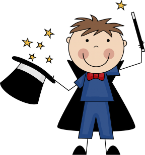 Magician clipart #1, Download drawings