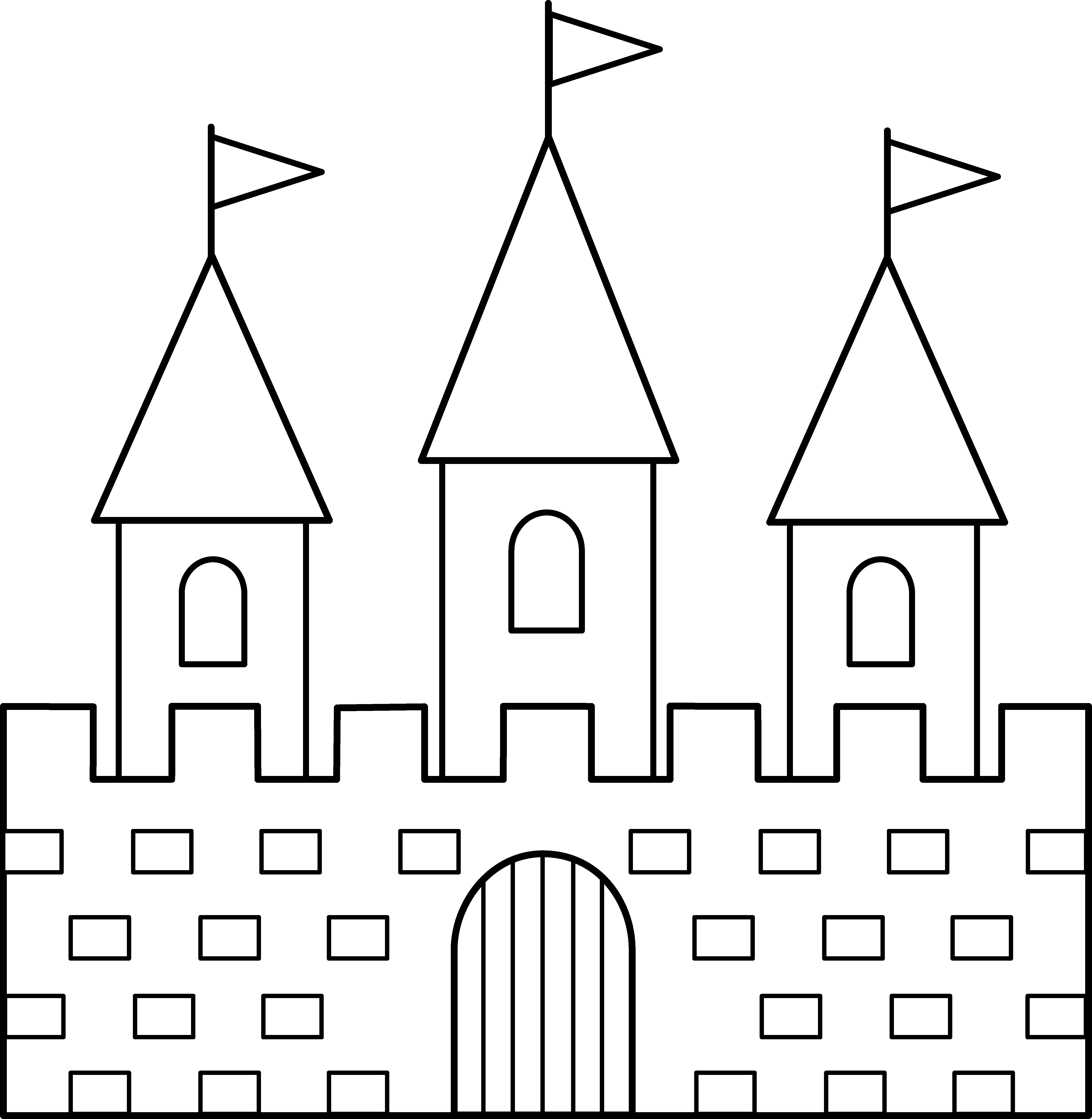 Magnificent Castle clipart #2, Download drawings