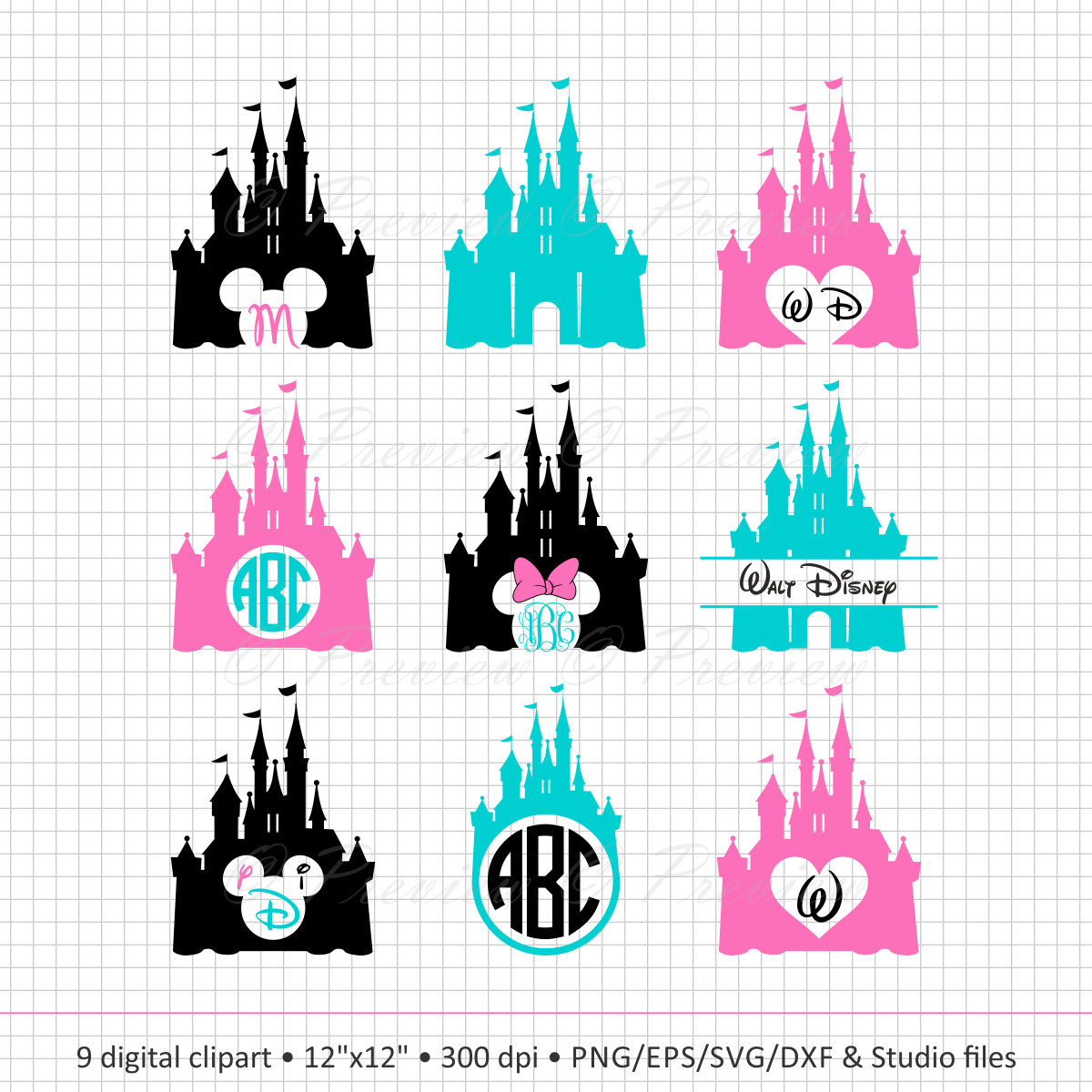 Magnificent Castle svg #6, Download drawings