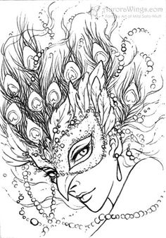 Magnifique coloring #14, Download drawings