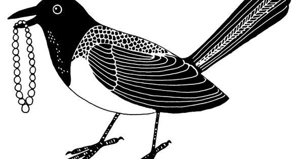 Magpie clipart #10, Download drawings