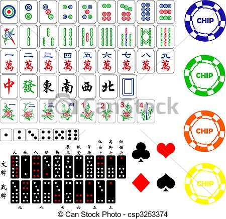 Mahjong clipart #11, Download drawings