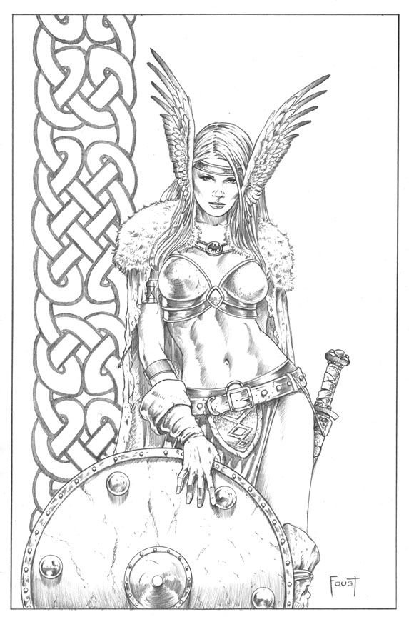 Maiden coloring #9, Download drawings