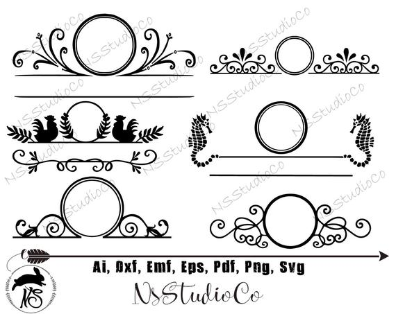 mailbox decal svg #1002, Download drawings