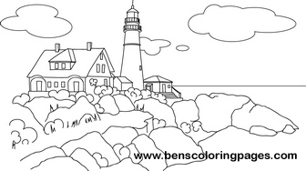 Maine coloring #7, Download drawings