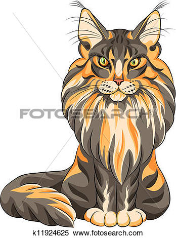 Maine Coon clipart #12, Download drawings
