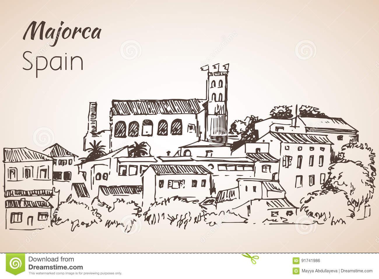 Majorca coloring #16, Download drawings