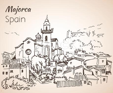 Majorca coloring #15, Download drawings