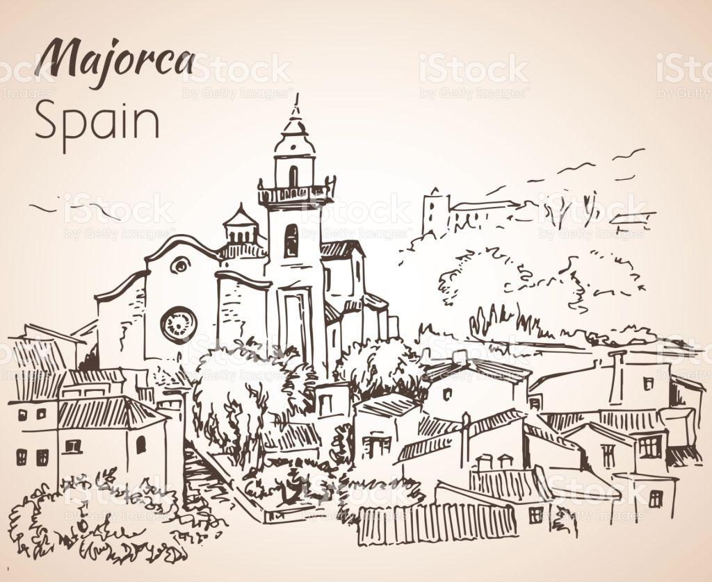 Majorca coloring #14, Download drawings
