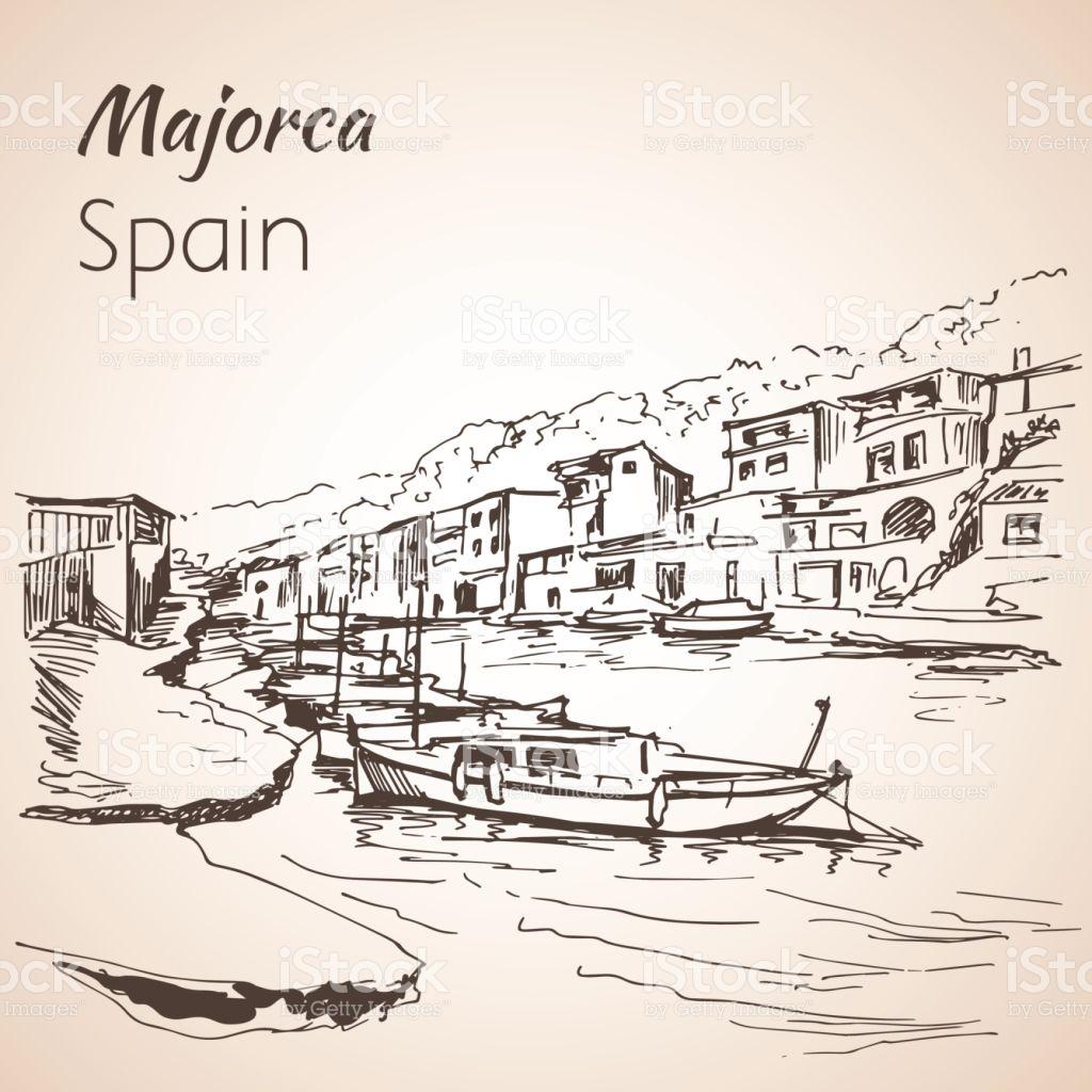 Majorca coloring #12, Download drawings