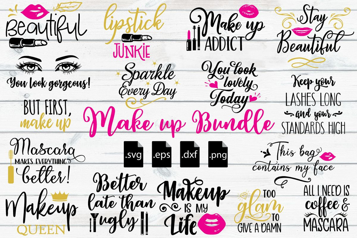 make up svg #1235, Download drawings