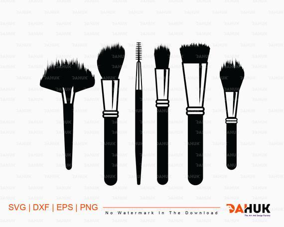 makeup brush svg #1069, Download drawings
