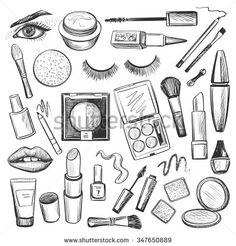Makeup coloring #11, Download drawings