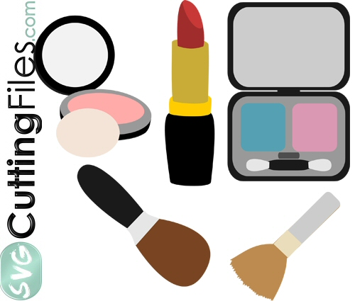 Makeup svg #13, Download drawings
