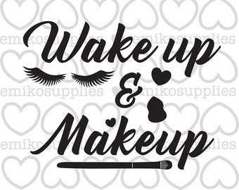 Makeup svg #10, Download drawings