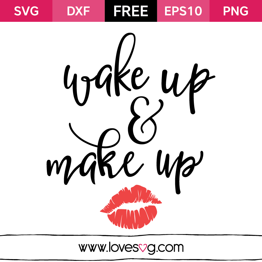 Makeup svg #20, Download drawings
