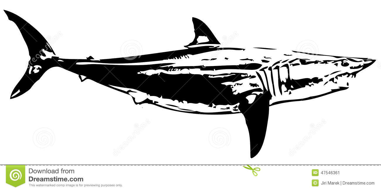 Mako Shark clipart #8, Download drawings