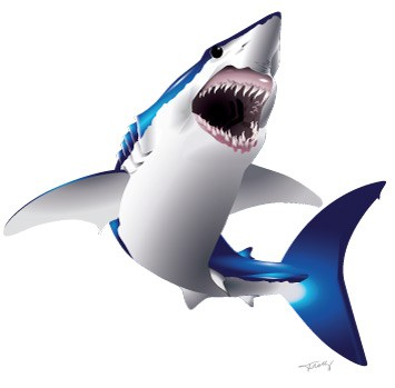 Mako Shark clipart #5, Download drawings