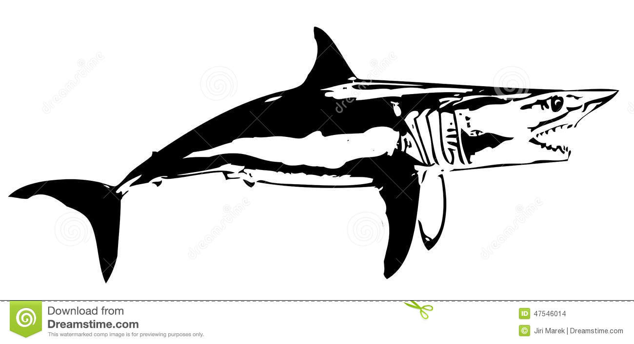 Mako Shark clipart #4, Download drawings