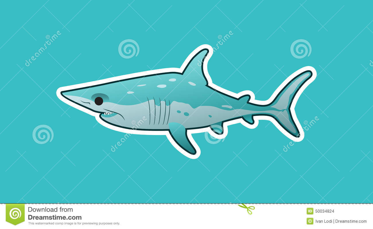 Mako Shark clipart #2, Download drawings