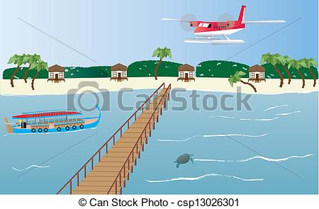 Maldives clipart #2, Download drawings
