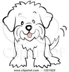 Maltese clipart #3, Download drawings