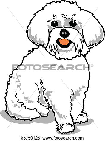 Maltese clipart #15, Download drawings