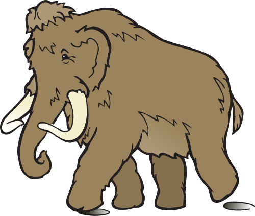 Mammoth clipart #16, Download drawings