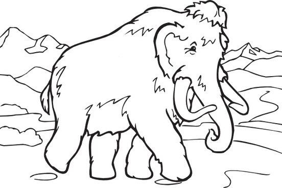 Mammoth clipart #5, Download drawings