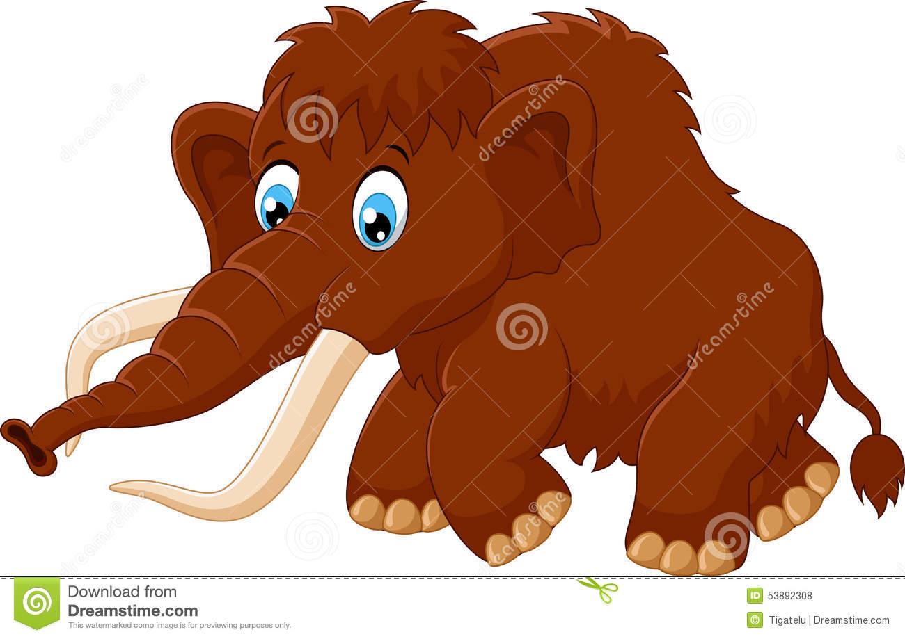 Mammoth clipart #2, Download drawings