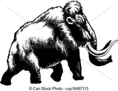 Mammoth clipart #4, Download drawings