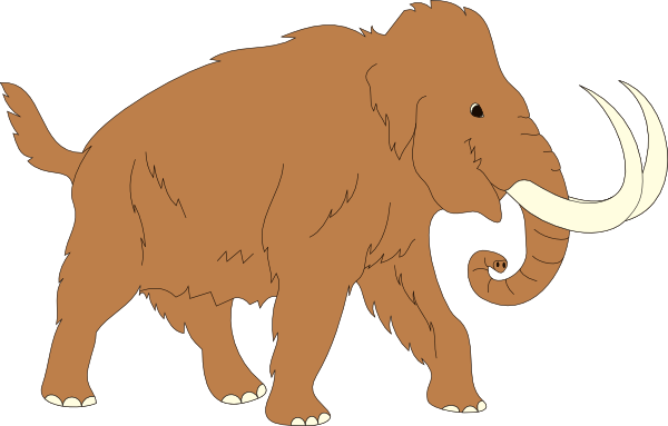 Mammoth clipart #18, Download drawings