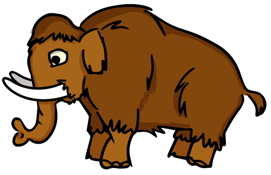 Mammoth clipart #15, Download drawings