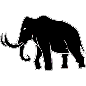 Mammoth svg #14, Download drawings