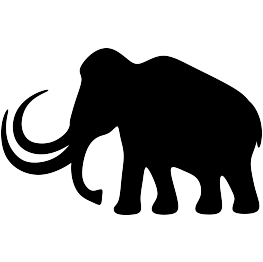 Mammoth svg #20, Download drawings