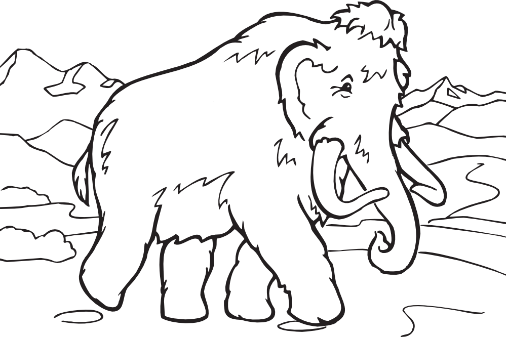 Mammoth svg #15, Download drawings