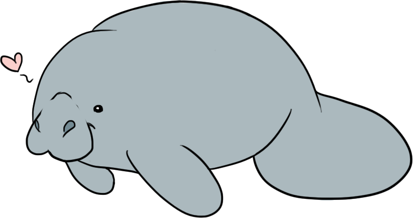 Manatee clipart #5, Download drawings