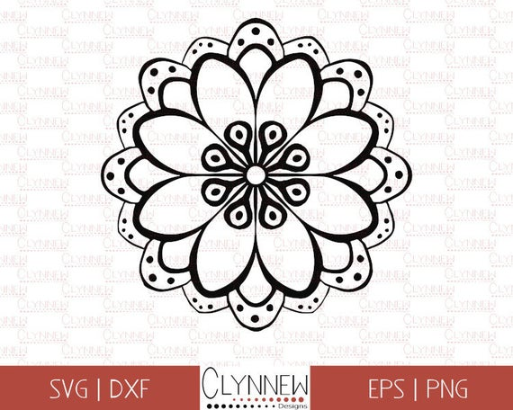 mandala flower svg #881, Download drawings