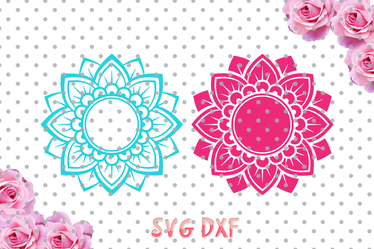 mandala flower svg #886, Download drawings