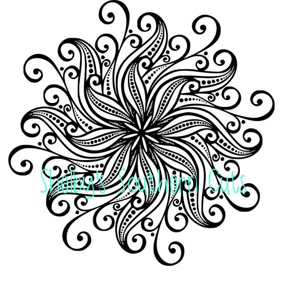 mandala flower svg #883, Download drawings